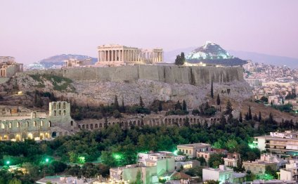 The Acropolis viewed from