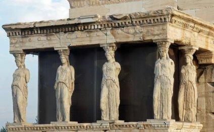 Athens, Caryatids on the Koren