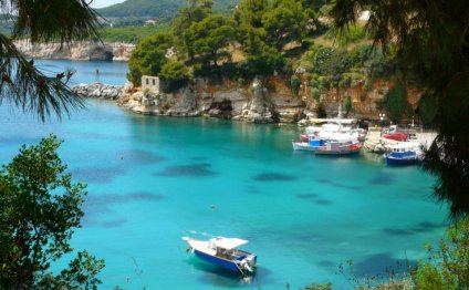 Alonissos island Boats Cove