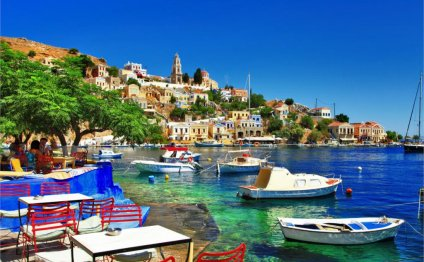 Greece symi island sea holiday