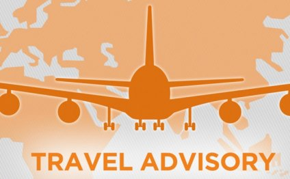 Recent travel advisory for