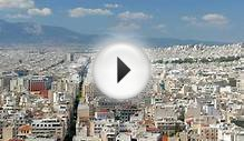 Apartments In Downtown Athens, Greece, 4K Stock Video