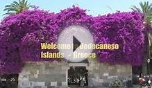Greek Dodecanese Islands - Sailing Holidays - Destinations